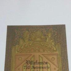 Libros antiguos: VILLAFAMES,CARTA PUEBLA.GRAVADOS GRAN CARPETA,ALEGRE CREMADES.. Lote 101069023