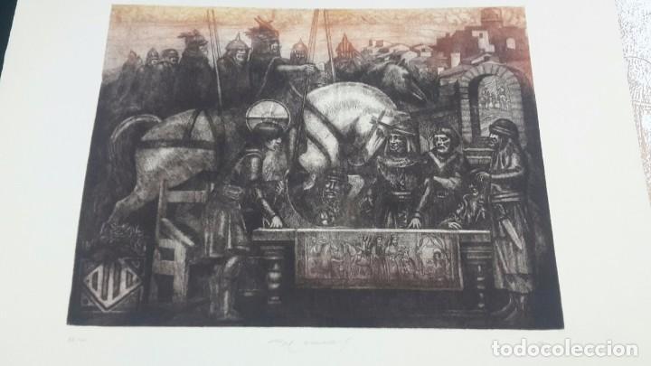 Libros antiguos: VILLAFAMES,CARTA PUEBLA.GRAVADOS GRAN CARPETA,ALEGRE CREMADES. - Foto 2 - 101069023