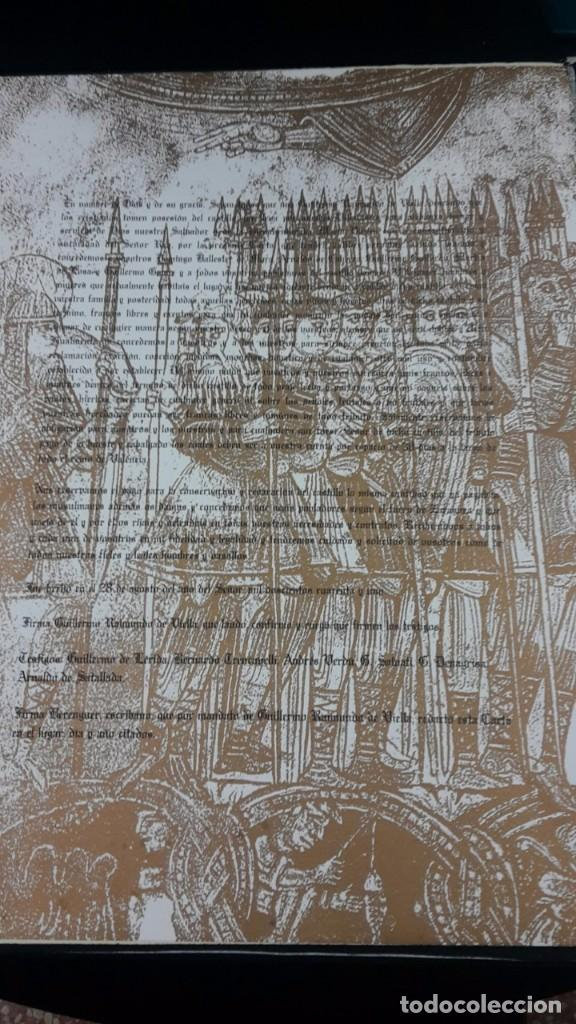 Libros antiguos: VILLAFAMES,CARTA PUEBLA.GRAVADOS GRAN CARPETA,ALEGRE CREMADES. - Foto 3 - 101069023