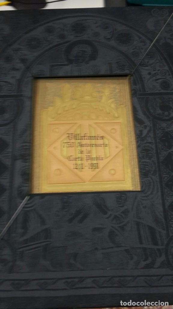 Libros antiguos: VILLAFAMES,CARTA PUEBLA.GRAVADOS GRAN CARPETA,ALEGRE CREMADES. - Foto 6 - 101069023