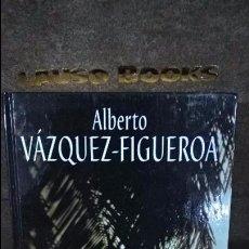 Libros antiguos: TIEMPO DE CONQUISTADORES. ALBERTO VAZQUEZ FIGUEROA. . Lote 101277815