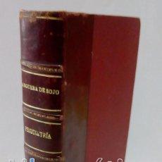 Libros antiguos: PSIQUIATRÍA. ANGUERA DE SOJO - EDITORIAL REUS 1ª EDICIÓN 1935. Lote 101317075
