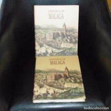 Libros antiguos: HISTORIA DE MÁLAGA. 2 TOMOS. PERFECTOS.. Lote 101327619