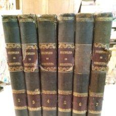 Libros antiguos: DICCIONARIO DE AGRICULTURA PRACTICA Y ECONOMIA RURAL COLLANTES 1855 FALTA EL TOMO I. Lote 101440355