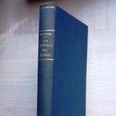 Libros antiguos: LOS CAMINOS DEL MUNDO PIO BAROJA 1933 . EXLIBRIS . Lote 101457571