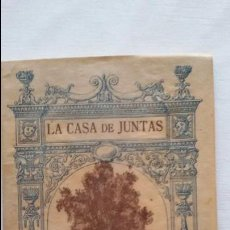 Libros antiguos: LA CASA DE JUNTAS DE GUERNICA D.CARMELO DE ECHEGARAY. ILUSTRACIONES CASA LUX. 1922, BARCELONA.. Lote 101533263