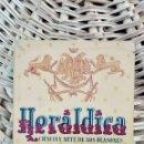 Libros antiguos: HERALDICA. CIENCIA Y ARTE DE LOS BLASONES. PEDRO BALTASAR DE ANDRADE. 1954 W. Lote 101606611