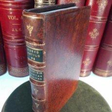 Libros antiguos: NUEVO ESTILO Y FORMULARIO DE ESCRIBIR CARTAS MISIVAS Y RESPONDER A ELLAS - MADRID - 1777 -. Lote 101696943