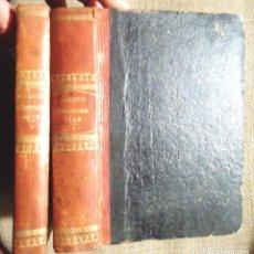 Libros antiguos: ESCENAS CONTEMPORÁNEAS REVISTA BIOGRÁFICA Y NECROLÓGICA CIENTÍFICA LITERARIA Y ARTÍSTICA I-II 1860 . Lote 101715119