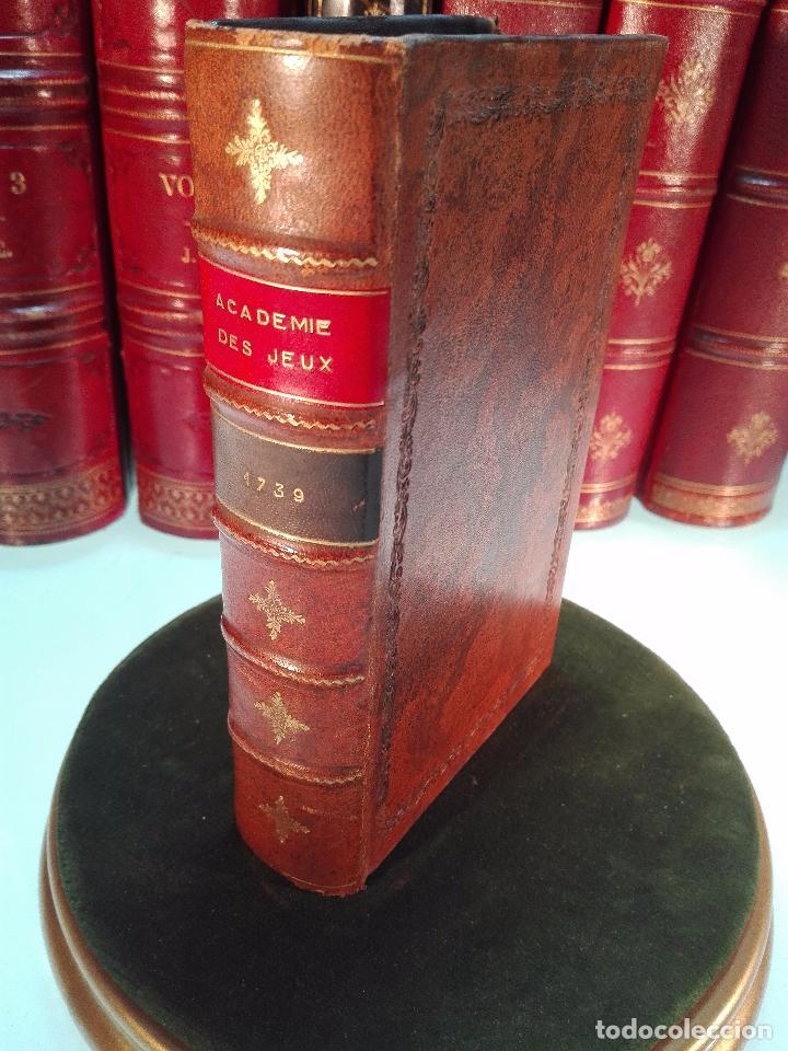 ACADEMIE UNIVERSELLE DES JEUX, CONTENANT LES REGLÉS DES JEUX - PARIS - 1739 - FRANCES - (Libros Antiguos, Raros y Curiosos - Pensamiento - Otros)