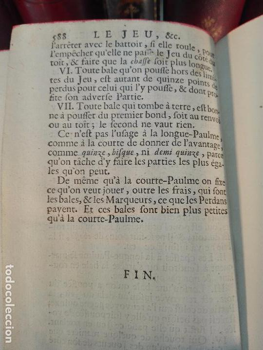 Libros antiguos: ACADEMIE UNIVERSELLE DES JEUX, CONTENANT LES REGLÉS DES JEUX - PARIS - 1739 - FRANCES - - Foto 5 - 101740487