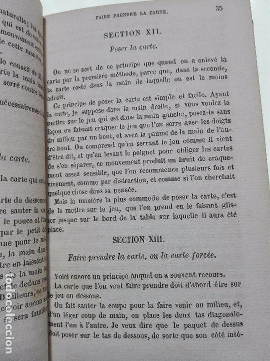 Libros antiguos: MANUELS-RORET-LA SOECELLERIE ANCIENNE ET MODERNE EXPLIQUÉE OU COURS COMPLET DE PRESTIDIGITATIÓN 1858 - Foto 4 - 101744143