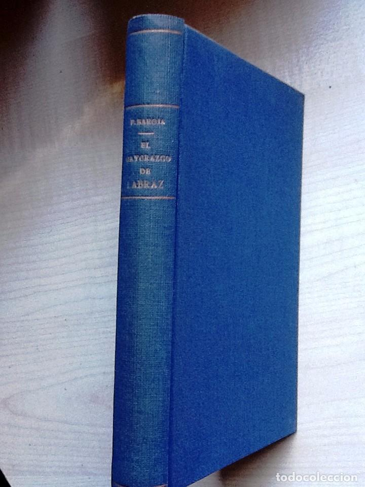 TIERRA BASCA, EL MAYORAZGO DE LABRAZ PIO BAROJA 1931 . EXLIBRIS (Libros antiguos (hasta 1936), raros y curiosos - Literatura - Narrativa - Otros)