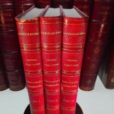 Libros antiguos: BIBLIOGRAFÍA MADRILEÑA DESCRIPCIÓN DE LAS OBRAS IMPRESAS EN MADRID - SIGLO XVI - 3 TOMOS - 1891 -. Lote 102047095