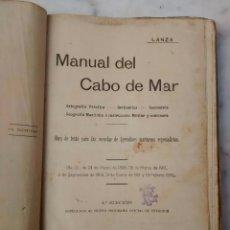 Manual cabo del mar 1916