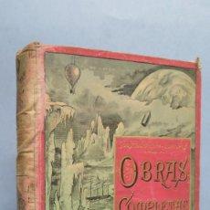 Libros antiguos: MISTRESS BRANICAN. SEGUNDA PARTE. JULIO VERNE. Lote 102091491