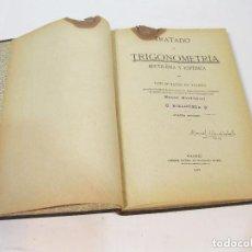 Alte Bücher - Tratado de Trigonometría. Madrid 1922. - 102124872
