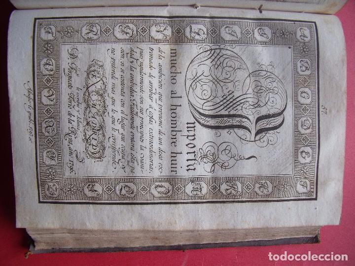 Libros antiguos: TORCUATO TORIO DE LA RIVA Y HERRERO.-ARTE DE ESCRIBIR POR REGLAS.-GRAMATICA.-GRABADOS.-MADRID.-1802. - Foto 7 - 102429471