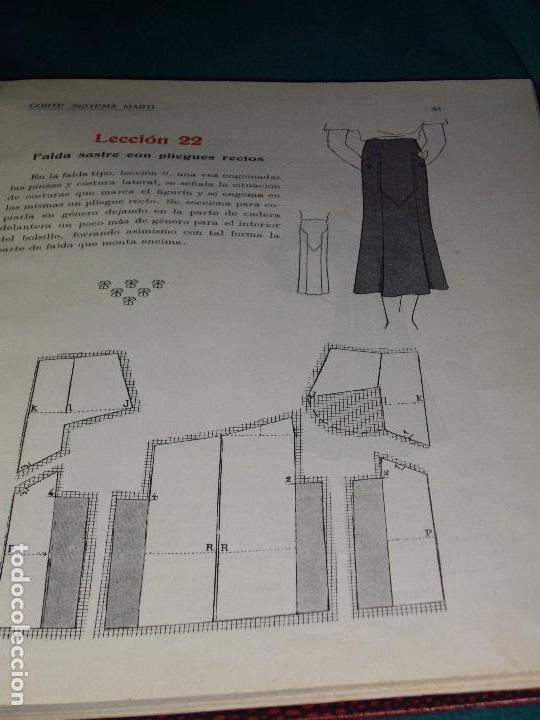 Libros antiguos: CORTE SISTEMA MARTI - 1935 - SASTRERIA - LENCERIA - Foto 6 - 102488027
