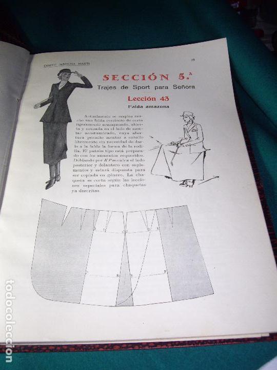 Libros antiguos: CORTE SISTEMA MARTI - 1935 - SASTRERIA - LENCERIA - Foto 8 - 102488027