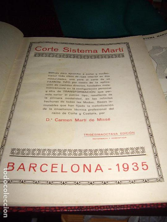 Libros antiguos: CORTE SISTEMA MARTI - 1935 - SASTRERIA - LENCERIA - Foto 12 - 102488027