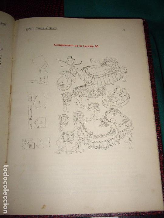 Libros antiguos: CORTE SISTEMA MARTI - 1935 - SASTRERIA - LENCERIA - Foto 17 - 102488027