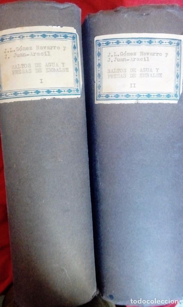 SALTO DE AGUA Y PRESA DE ENVALSE (Libros Antiguos, Raros y Curiosos - Bellas artes, ocio y coleccionismo - Otros)