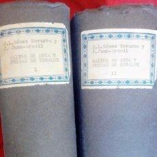 Libros antiguos: SALTO DE AGUA Y PRESA DE ENVALSE. Lote 102507955