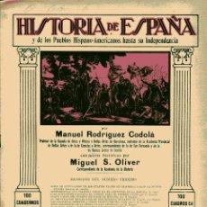 Libros antiguos: HISTORIA DE ESPAÑA Y DE LOS PUEBLOS HISPANOAMERICANOS HASTA SU INDEPENDENCIA Nº 39. Lote 102525227