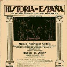 Libros antiguos: HISTORIA DE ESPAÑA Y DE LOS PUEBLOS HISPANOAMERICANOS HASTA SU INDEPENDENCIA Nº 41. Lote 102560443