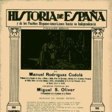 Libros antiguos: HISTORIA DE ESPAÑA Y DE LOS PUEBLOS HISPANOAMERICANOS HASTA SU INDEPENDENCIA Nº 42. Lote 102560455