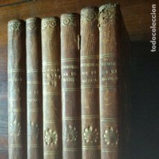 Libros antiguos: MEMORIAS DE UN MÉDICO. ALEJANDRO DUMAS. 1846-1848. 6 VOL. RARA PRIMERA EDICIÓN. PARÍS. Lote 102645239