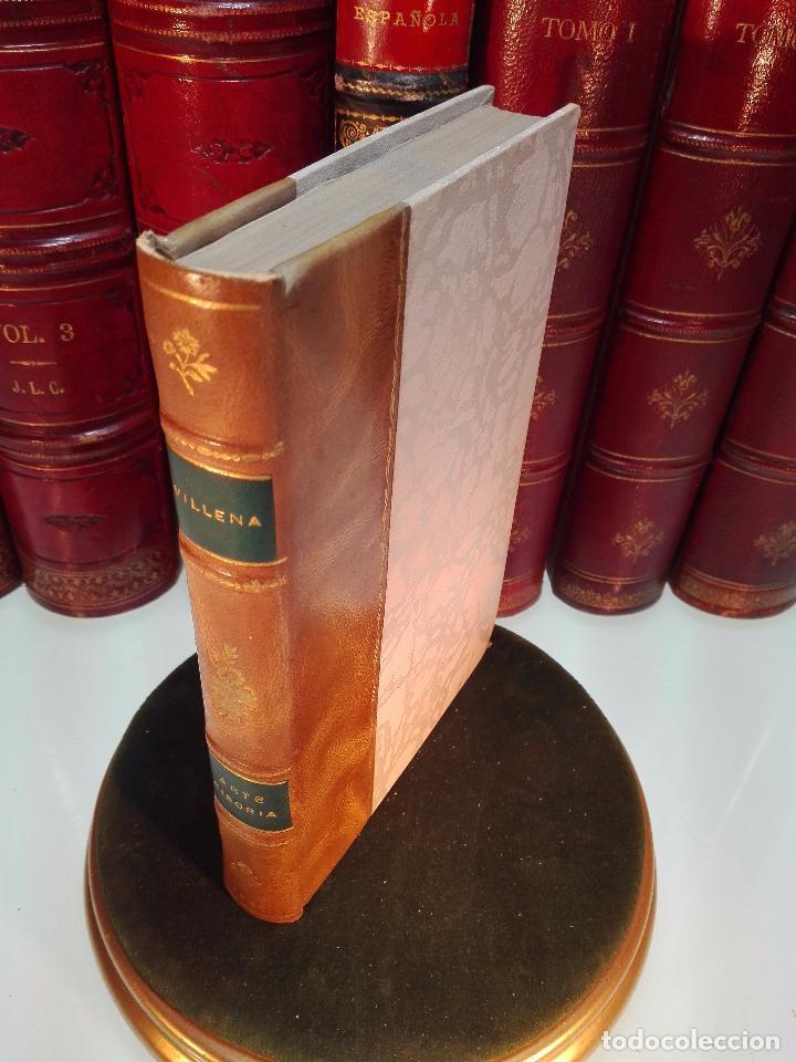 ARTE CISORIA - ARTE DE TRINCHAR O CORTAR CON CUCHILLO CARNES Y DEMÁS VIANDAS - ENRIQUE DE VILLENA - (Libros Antiguos, Raros y Curiosos - Cocina y Gastronomía)