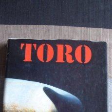 Libri antichi: TORO. RAMON MASATS. JOAQUIN VIDAL. EDICION LUNWERG.. Lote 102761247