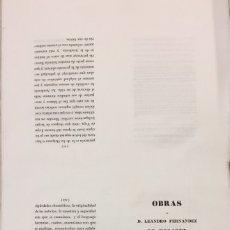 Libros antiguos: OBRAS DE D. LEANDRO FERNÁNDEZ DE MORATÍN - LEANDRO FERNÁNDEZ DE MORATÍN. Lote 102766824
