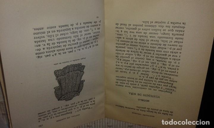 Libros antiguos: MANUAL DE LABORES. TERESA KÓHLER DE VIZUETE - Foto 2 - 102786879