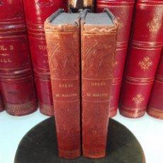 Libros antiguos: OBRAS DRAMÁTICAS Y LÍRICAS DE D. LEANDRO FERNANDEZ DE MORATÍN - DOS TOMOS - MADRID - 1844 -. Lote 103039811