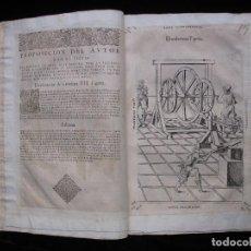 Libros antiguos: TEATRO DE LOS INSTRUMENTOS Y FIGURAS MATEMATICAS Y MECANICAS COMPUESTO POR DIEGO BESSON (1602). Lote 103041079