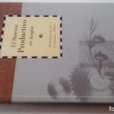 Libros antiguos: EL SISTEMA PRODUCTIVO EN ARAGON-DEPARTAMENTO ECONOMI-DIRECCION GUILLERMO FATAS Y MANUEL SILVA-CAI100. Lote 103077515