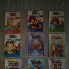 Libros antiguos: WITCH LOTE 9 LIBROS. Lote 103077743
