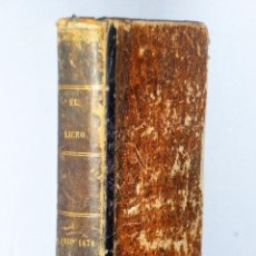 Libros antiguos: EL LICEO DE GRANADA. REVISTA QUINCENAL DE CIENCIAS, LITERATURA Y ARTES. (1869-1870). Lote 103116931
