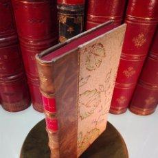 Libros antiguos: AVENTURES DE L'ABBÉ DE CHOISY - HABILLÉ EN FEMME - EDICIÓN BIBLIÓFILA DE 250 EJEMPLARES - 1880 -. Lote 103117079