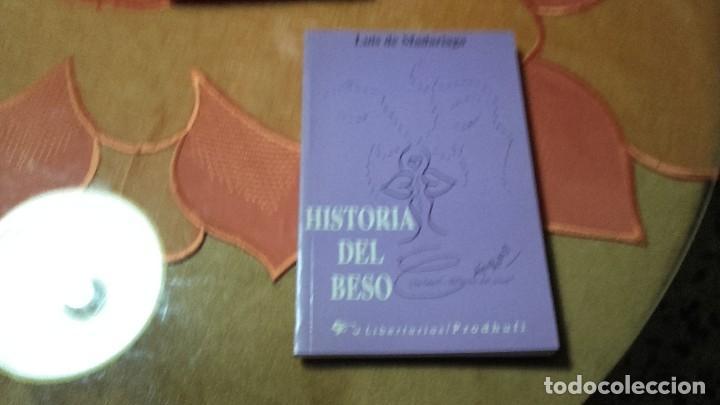 HISTORIA DEL BESO. (Libros antiguos (hasta 1936), raros y curiosos - Literatura - Narrativa - Otros)