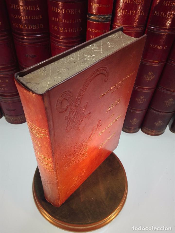 ARTE DE BALLESTERÍA Y MONTERÍA - EDICIÓN FACSIMIL DE 1644 - NUMERADA - ALONSO MARTINEZ DE ESPINAR - (Libros Antiguos, Raros y Curiosos - Ciencias, Manuales y Oficios - Otros)