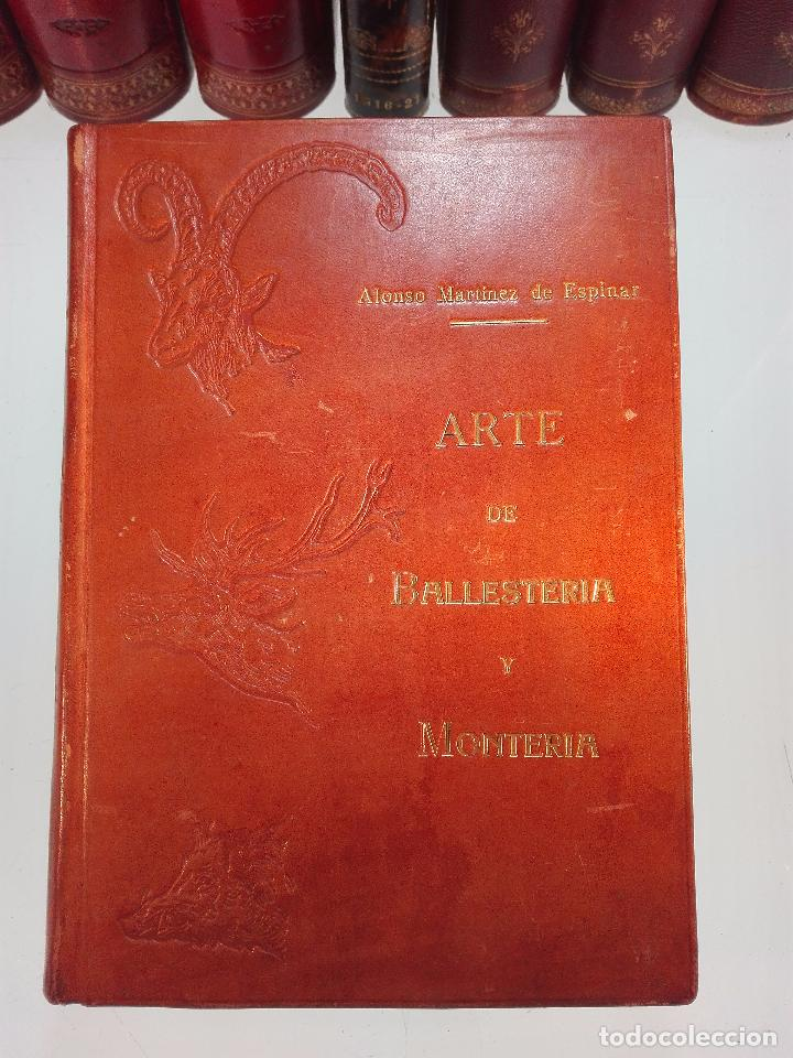 Libros antiguos: ARTE DE BALLESTERÍA Y MONTERÍA - EDICIÓN FACSIMIL DE 1644 - NUMERADA - ALONSO MARTINEZ DE ESPINAR - - Foto 2 - 103275599