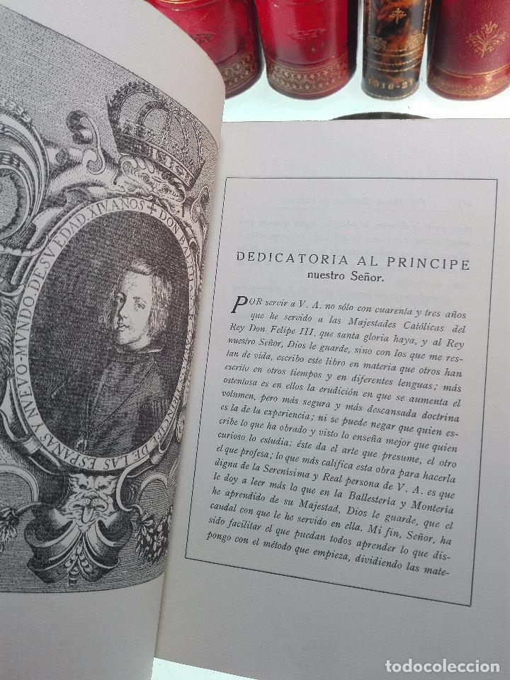Libros antiguos: ARTE DE BALLESTERÍA Y MONTERÍA - EDICIÓN FACSIMIL DE 1644 - NUMERADA - ALONSO MARTINEZ DE ESPINAR - - Foto 6 - 103275599