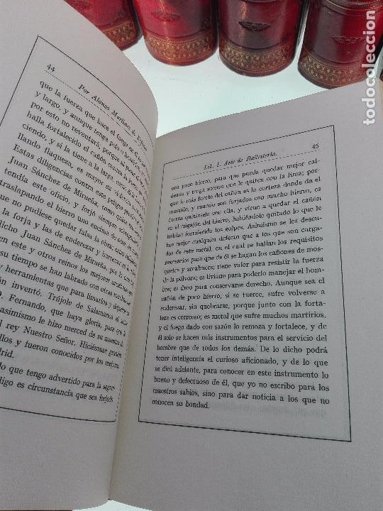 Libros antiguos: ARTE DE BALLESTERÍA Y MONTERÍA - EDICIÓN FACSIMIL DE 1644 - NUMERADA - ALONSO MARTINEZ DE ESPINAR - - Foto 7 - 103275599