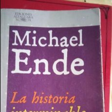 Libros antiguos: HISTORIA INTERMINABLE. MICHAEL ENDE. Lote 103299031