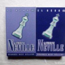 Libros antiguos: EL OCHO POR KATHERINE NEVILLE 2 TOMOS. Lote 103324163
