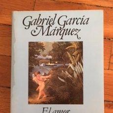 Libros antiguos: GABRIEL GARCÍA MÁRQUEZ: EL AMOR EN LOS TIEMPOS DEL CÓLERA. Lote 103374375